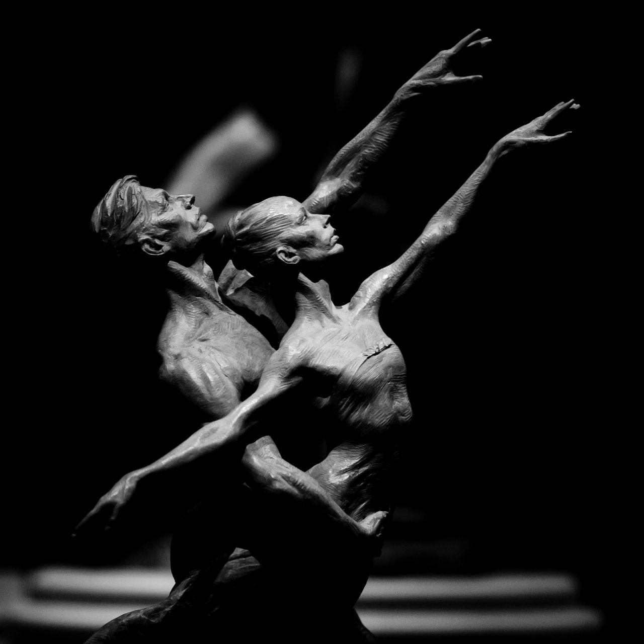 Скульптура Ричарда МакДональда. Отель Белладжио. Лас-Вегас Стрип