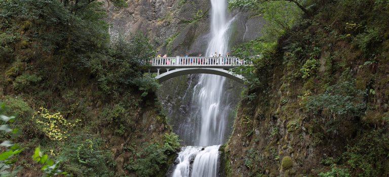 Мир водопадов. Водопад Малтнома – могучий орегонский красавец