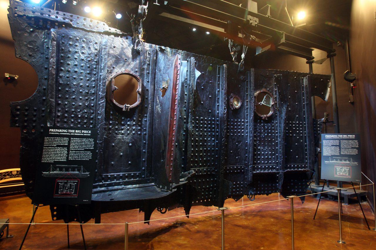 Лас-Вегас. Музей Титаник
